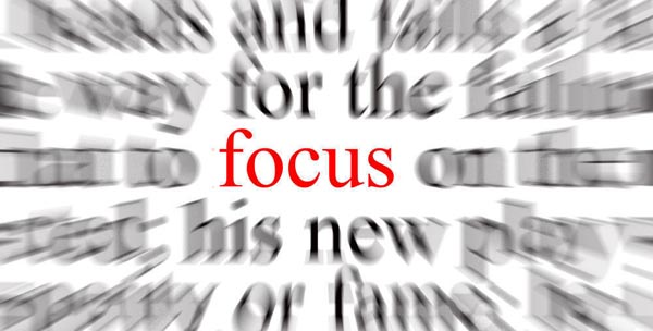"NEW POST!  ""Where is Your Focus?"""