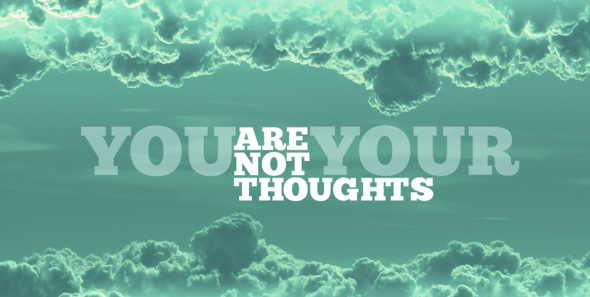 you are not your thoughts- terry mcbride